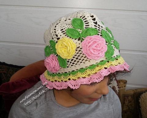 летняя шляпка крючком