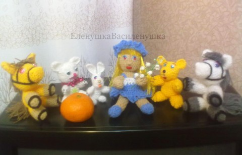 фото вязаных крючком игрушек