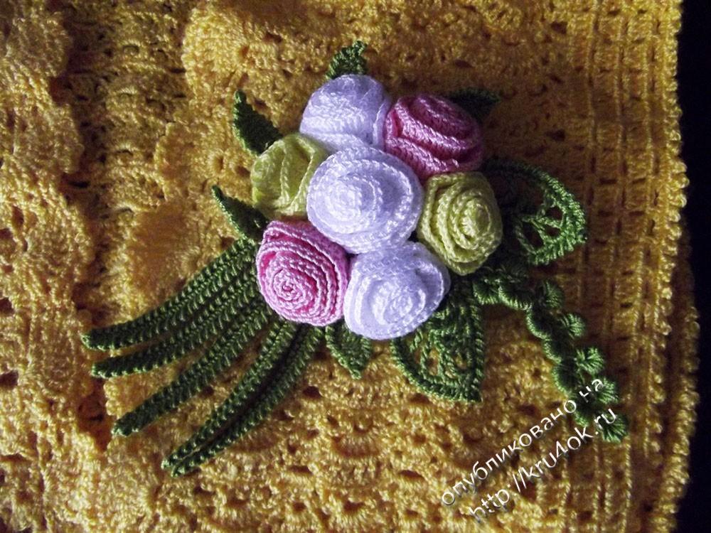 Схема вязания болеро: