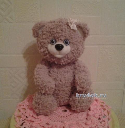 Вязаный медвежонок - работа Анжелы