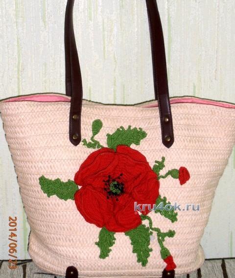 Украшение для сумки - работа Татьяны