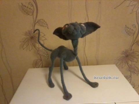 Вязаная крючком игрушка - работа Марины
