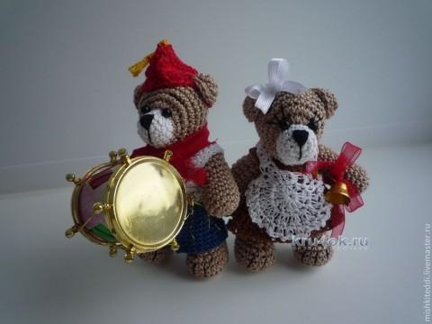 Вязаные крючком игрушки - работы Екатерины
