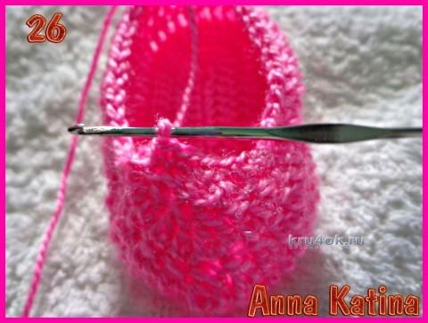 Вязание пинеток крючком. МК!
