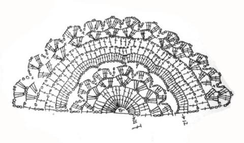 схема вязания чехла для подушки