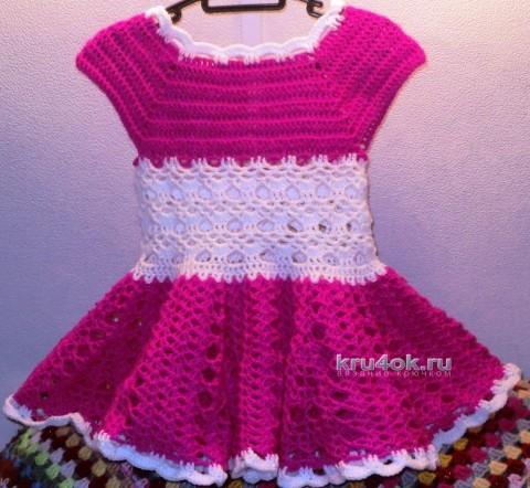 Платье для девочки - работа Светланы