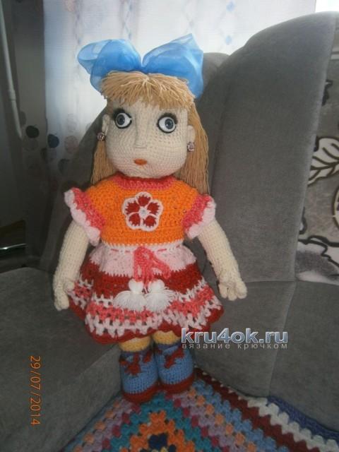 Вязаная крючком кукла - работа Елены