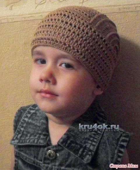 Бандана для мальчика - работа Татьяны