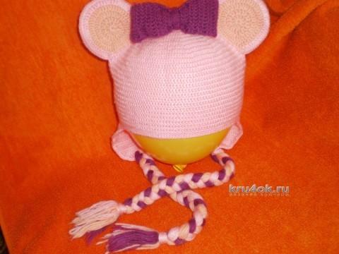 Детские шапочки крючком - работы Светланы