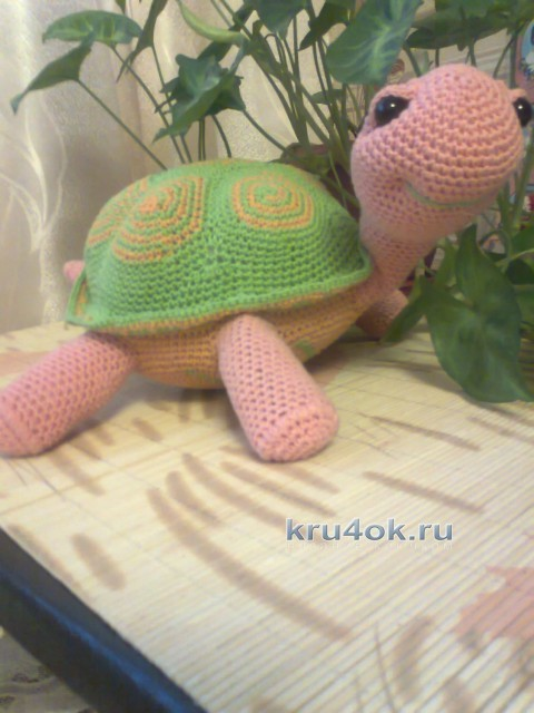 Вязаные игрушки - работы Елена Сериченко