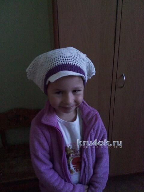 Косынка для девочки - работа Наталии