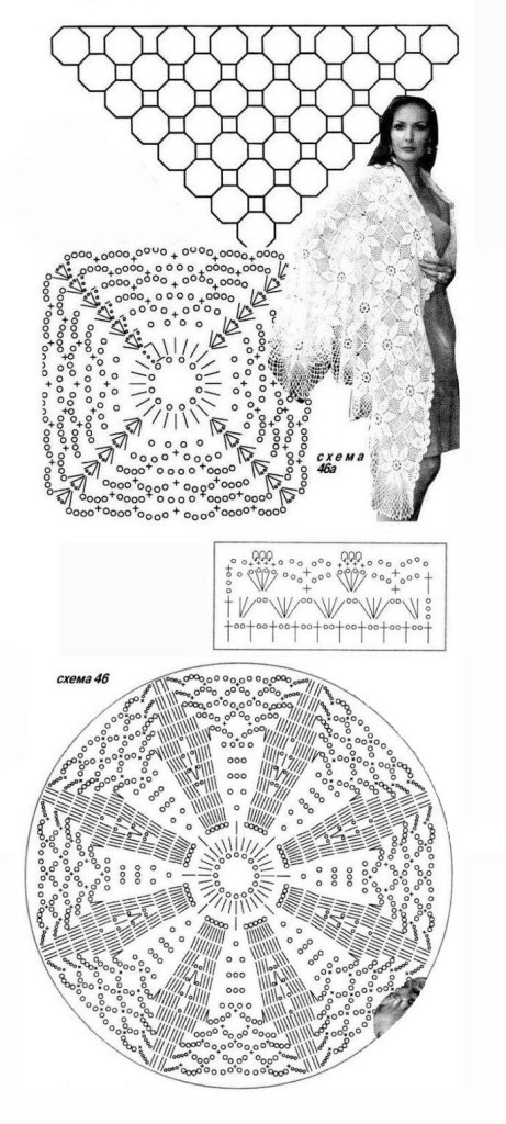 схемы вязания свитера