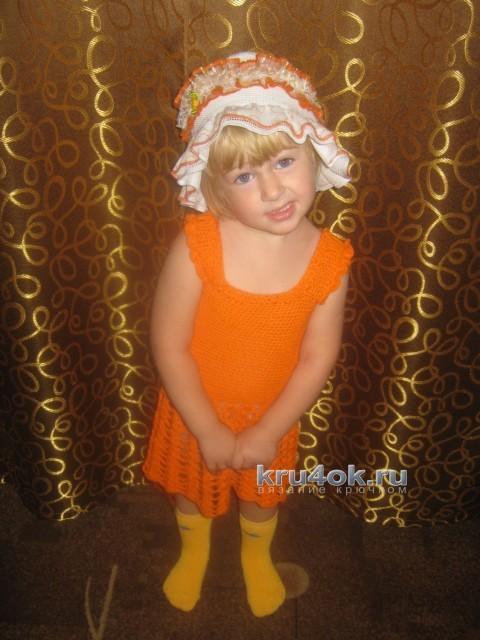 Сарафан для девочки - работа Татьяны