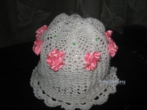 Вязаные шапочки - работы Марины Смирновой
