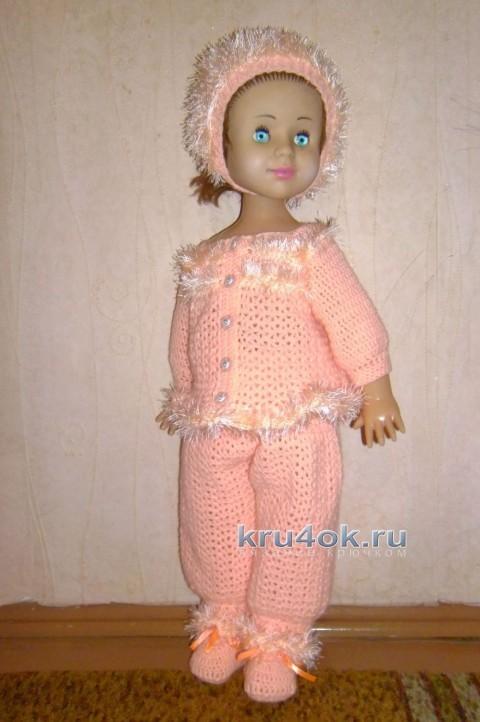 Комплект для новорожденной девочки - работа Анастасии