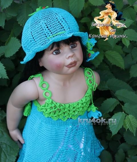 Сарафан и шляпка для девочки
