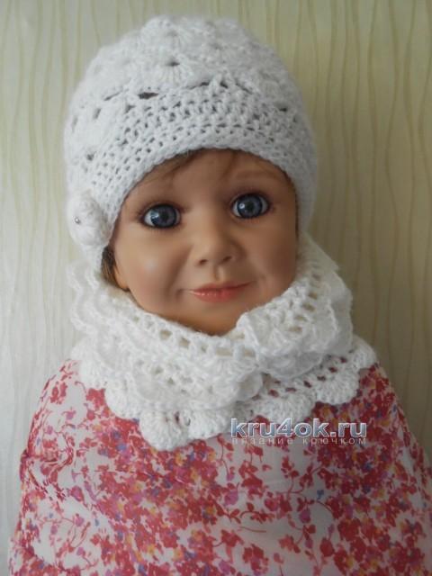 Шапочка и шарф - работы Татьяны Султановой