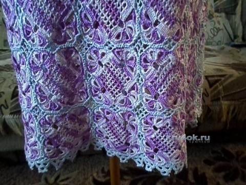 Платье в технике ирландского кружева - работа Павленко Елены