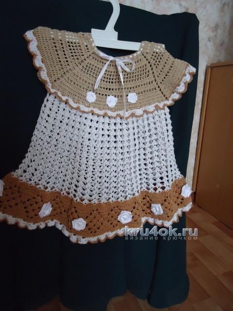 Детское платье - работа Галины Поповой