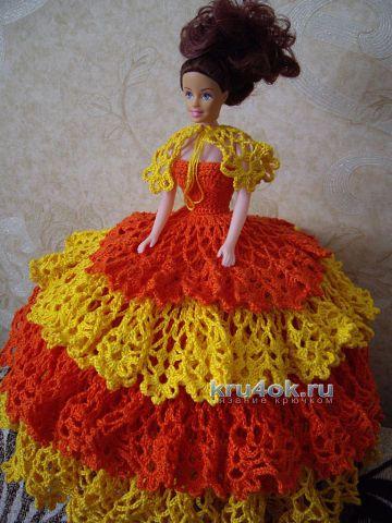 Платье для Барби - работа Наталии