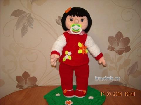 Вязаная крючком кукла - работа Надежды