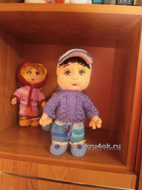Вязаные игрушки - работы Елены