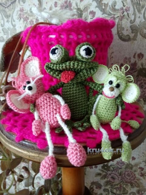 Вязаные игрушки - работы Ирины