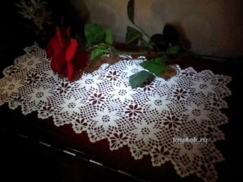 Вязаные крючком салфетки - работы Альбины Петровны