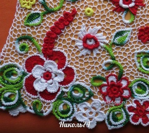 Платье для девочки - работа Нины Колотило