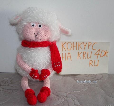 Новогодняя овечка - работа Екатерины