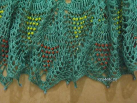 Вязание с бисером. Работы Анны