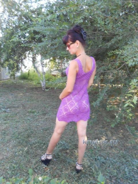 женское платье крючком