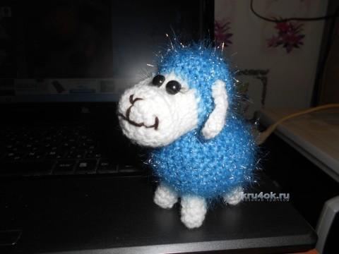 Вязаные овечки - работы Анны