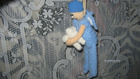Вязаная игрушка - работа Галины В.
