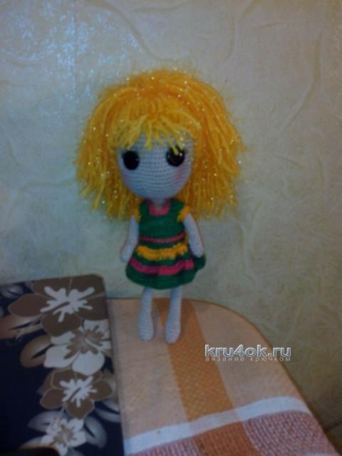 Вязаные куклы Лалалупси - работа Неонилы