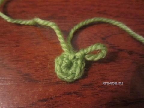 Вязаная крючком елка - МК от Елены