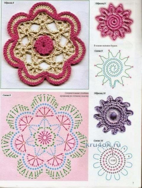 схемы вязания сарафана