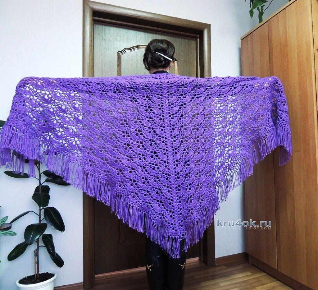 Вязание шалей со светланой берсановой 96