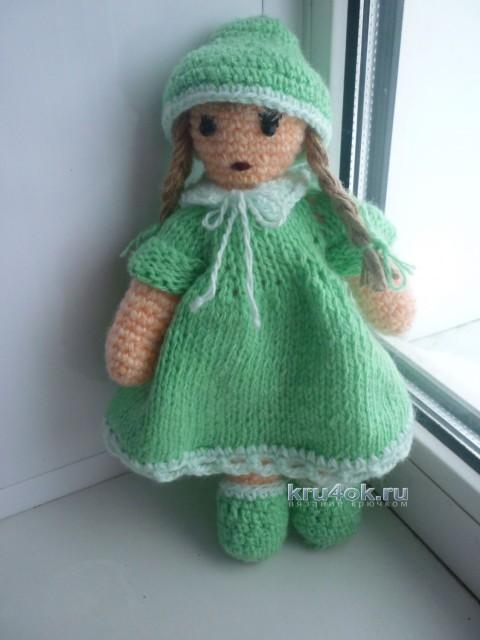 Вязаные куклы - работы Валентины