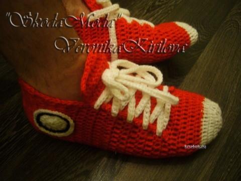 Кроссовки - носочки Кросс мужские - МК от Вероники