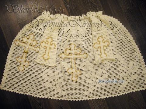 Рубашка для крещения - работа Вероники