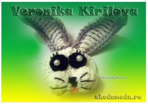 Пинетки Зайчики - работа Вероники
