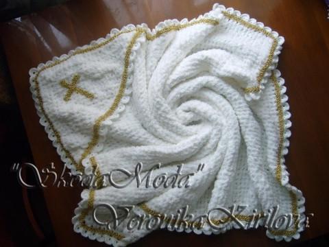 плед полотенце крючком