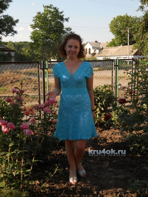 Вязаные платья - работы Ирины Стильник