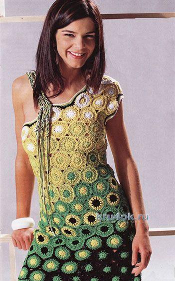 Платье для девочки - работа Арины