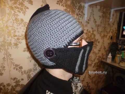 шлем крючком фото