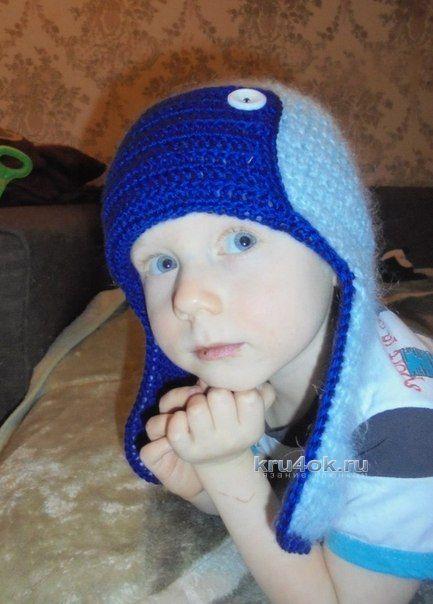 Шапочка для мальчика - работа Натальи Трусовой