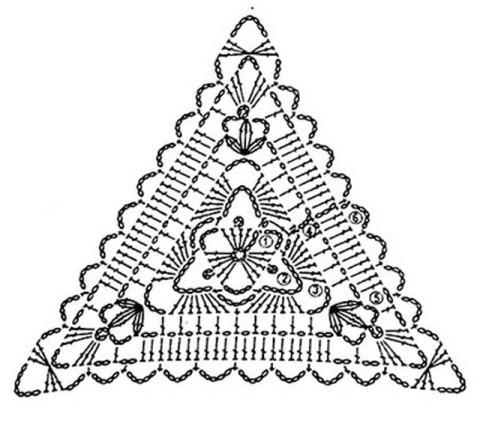 Схема вязания митенок