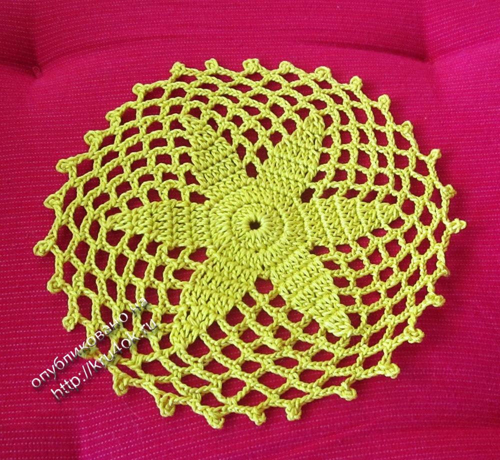 Английская резинка для начинающих. Легкая схема вязания ...