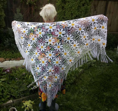 crochet mantón
